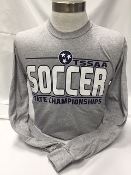 2016 Girls Soccer Grey Long Sleeve