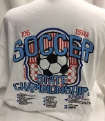 2016 Girls Soccer White Long Sleeve