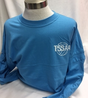Blue Volleyball Spirit Jersey