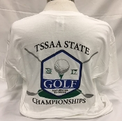 2017 White Short Sleeve Golf