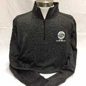 Grey-Black Electric Heather 1/4-Zip Pullover