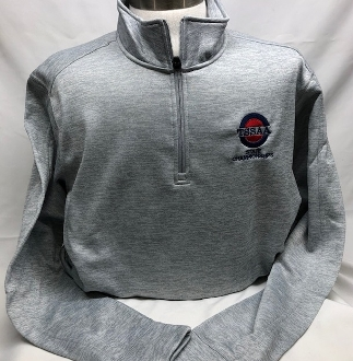 Lt. Gray Electric Heather 1/4-Zip Pullover