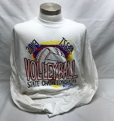 2019 Volleyball White Long Sleeve